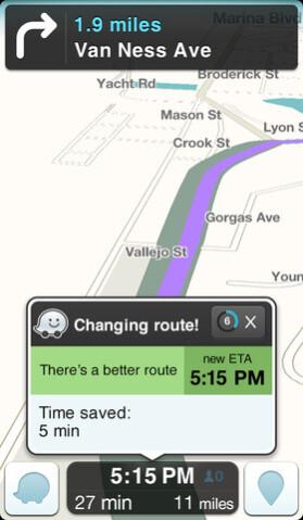 Screenshots from Waze - Waze hits Windows Phone Store, but you can't get it yet