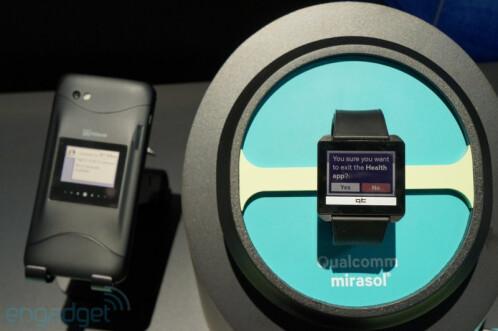 Qualcomm demonstrates its future display: 5.1-inch Mirasol 577dpi screen
