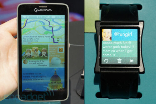 Qualcomm demonstrates its future display: 5.1-inch Mirasol 577dpi screen