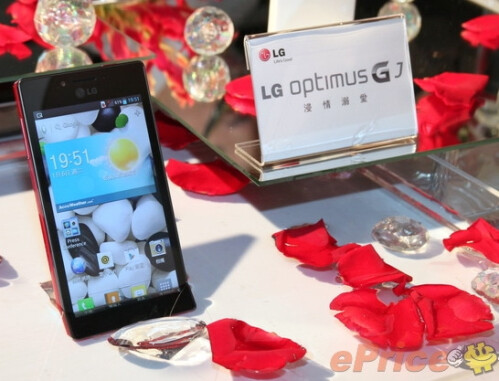 The LG Optimus GJ