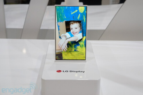 LG demonstrates 5-inch display with 1mm bezel