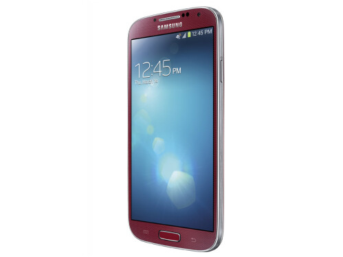 Galaxy S4 in Aurora Red
