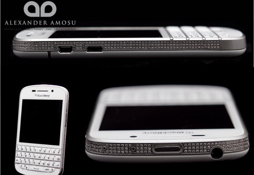 The $31,000 diamond encrusted BlackBerry Q10 - Diamond encrusted $31,000 BlackBerry Q10 is limited to 25 units