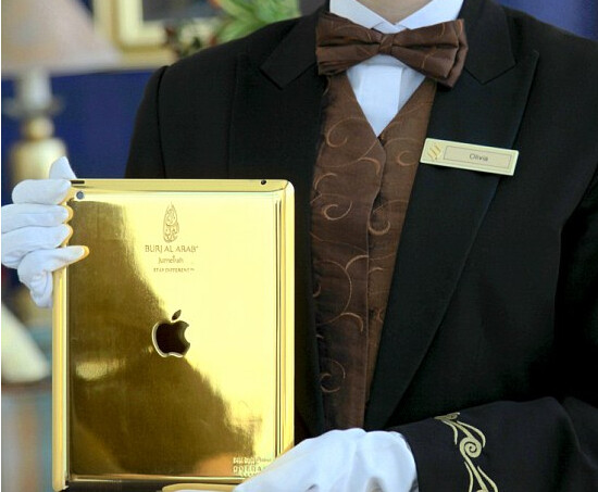 The Good Life - Hotel gives guests gold plated Apple iPad to use during stay