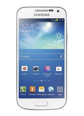 Brown Samsung Galaxy Note 8.0 (L) and white Samsung Galaxy S4 mini