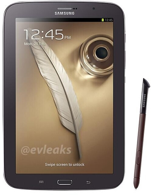 Samsung prepping a brown version of the Galaxy Note 8.0