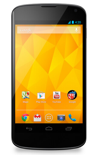 LG announces white Google Nexus 4