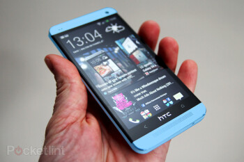 A blue version of the HTC is coming