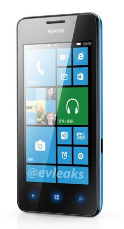 Huawei Ascend W2 photo leaks out to strut the thinnest Windows Phone so far