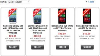 The Nokia Lumia 928 ships when available at Radio Shack