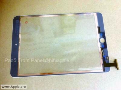 Alleged front panel of the iPad 5 pops up, flaunts iPad mini-esque design