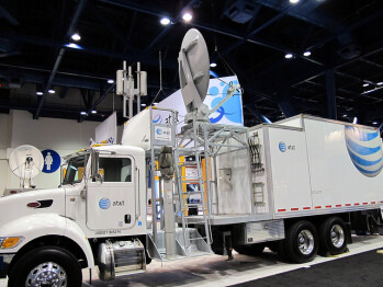 AT&T has its crews all ready to roll in case of a hurricane