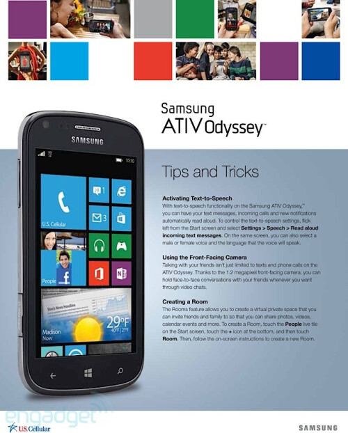 Samsung ATIV Odyssey for U.S.Cellular
