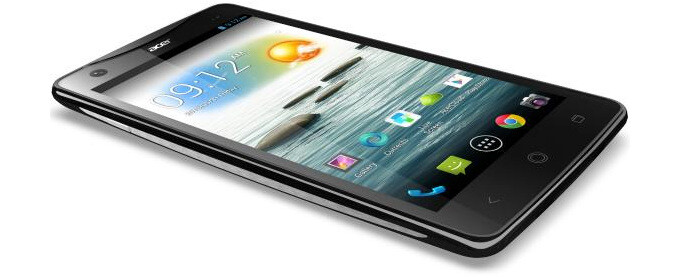 The Acer Liquid S1 is official - Acer Liquid S1 is announced with 5.7-inch screen, quad-core processor