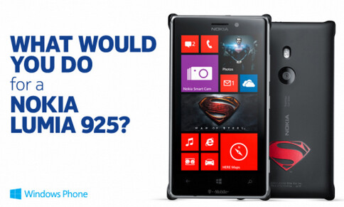 What would you do for a Nokia Lumia 925? - Tell Nokia what you would do to win a Nokia Lumia 925, and win one