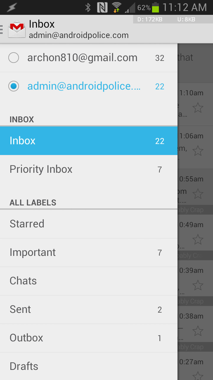 Gmail for Android update is here
