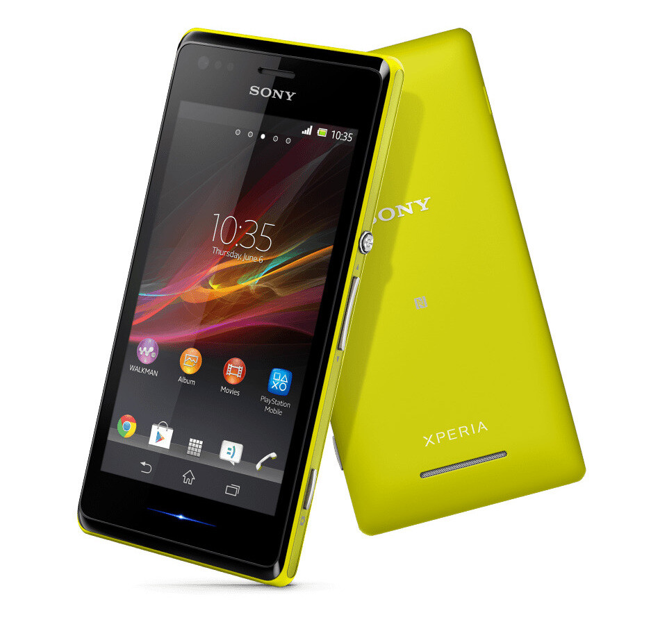 Sony Xperia M is now o...