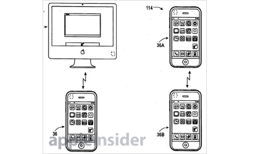 Apple receives a patent for data syncing cross-platform using NFC