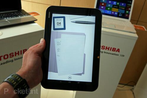 Toshiba Excite Pro and Toshiba Excite Write