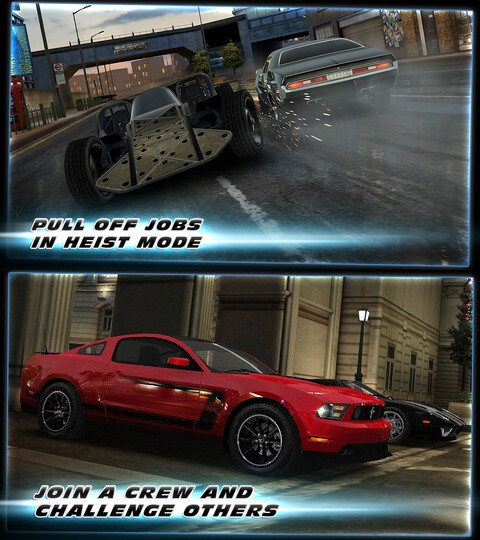 Fast & Furious 6: The Game - Android, iOS - Free