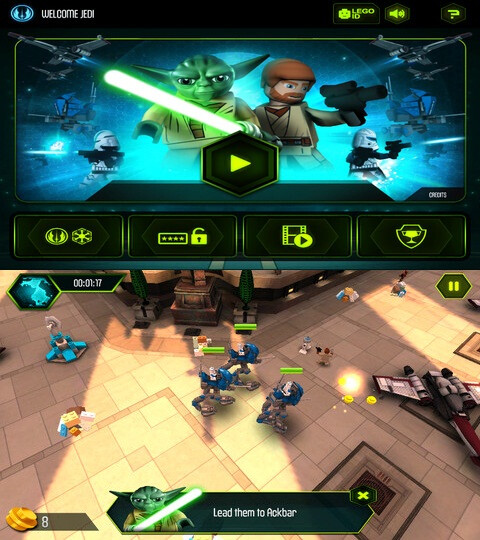 Lego Star Wars - Android, iOS - Free