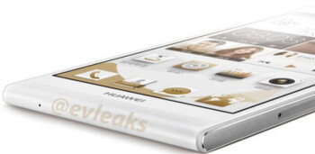Leaked shot by evleaks reveals how thin the Huawei Ascend P6's profile really is