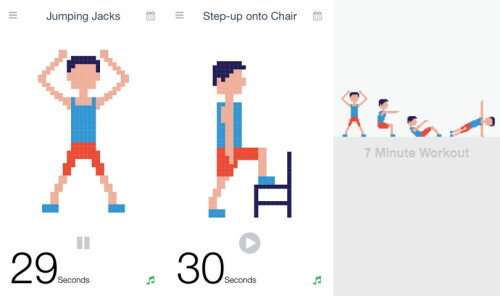 Workout (7 Minute Body Fitness Exercise) - iOS - $1.99