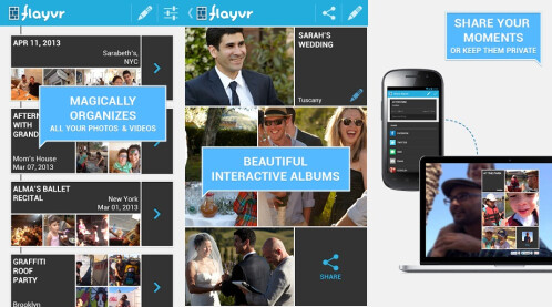 flayvr: photo and video albums - Android, iOS - Free