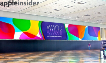 Apple's WWDC banners hint it's 'where a whole new world is developing'