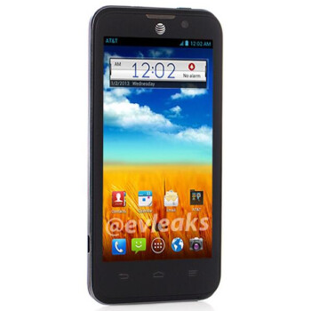 ZTE Mustang Android smartphone leaks, headed for AT&T
