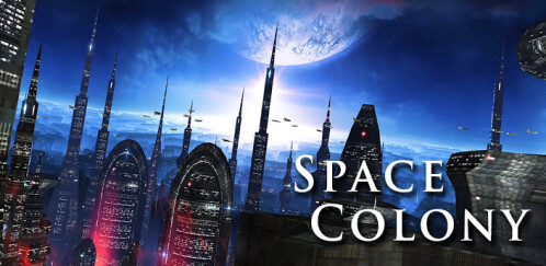 Space Colony Live Wallpaper - Android - $1.94