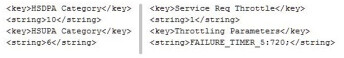 This code, allegedly written into iOS, supposedly limits the speed of theApple iPhone on some carriers