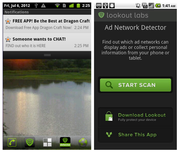 Avoid suspicious ad-supported apps