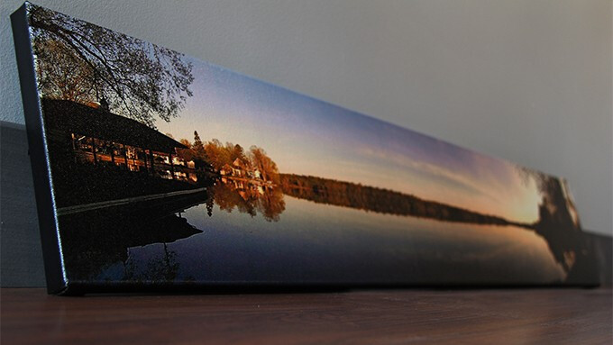 "Studio prints a 46"" canvas from an HTC One photo, rendering the megapixel war moot"
