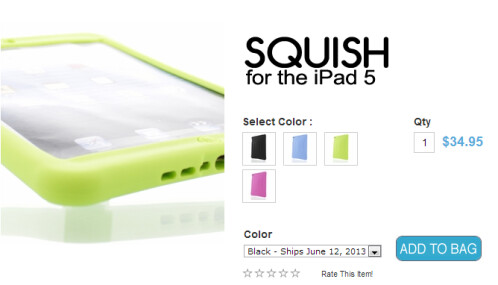 Hard Candy Cases for the 5th-generation Apple iPad