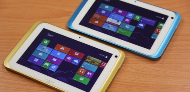 """Microsoft shows a 7"""" Windows 8.1 tablet with quad-core Intel Bay Trail (video)"""