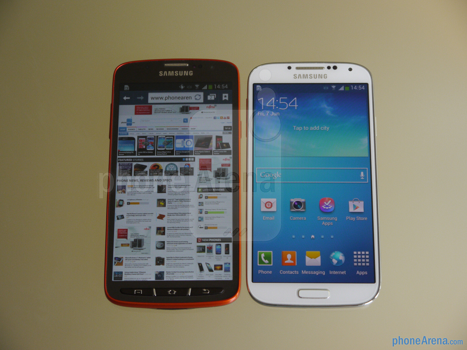samsung galaxy s4 active hands on phonearena reviews