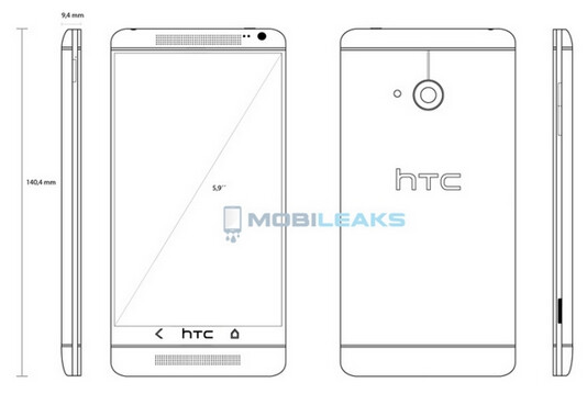 Is this the HTC One T6? - Is this blueprint showing us the HTC T6?
