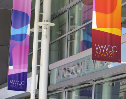 Decorations at WWDC 2013