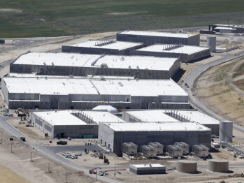 This is NSA's massive data center in Bluffdale, Utah