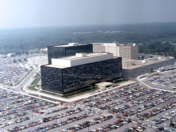 The NSA is headquartered at Fort Meade, Maryland which lies outside Washington, DC