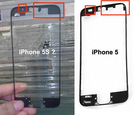 Apple iPhone 5S frame