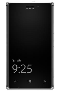 Glance Screen on Nokia Lumia 925
