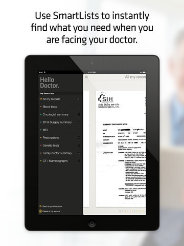 Hello Doctor app makes it easier to keep track of a complex medical condition