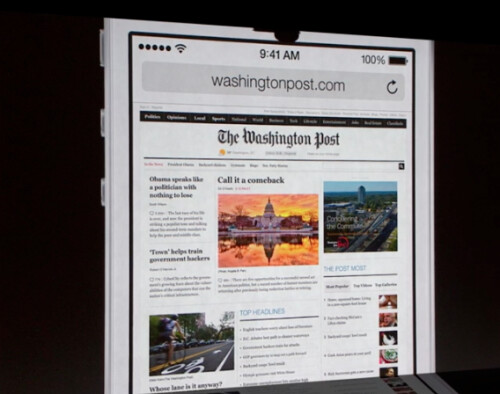 Mobile Safari gets a complete overhaul in iOS 7