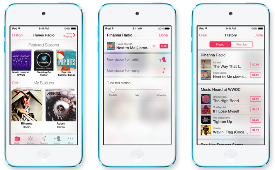 Apple outs iTunes Radio - its own free streaming music service