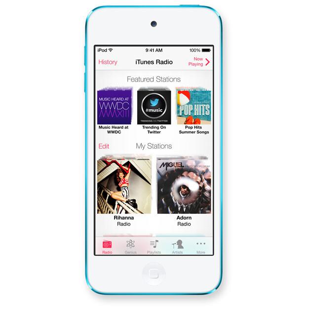 Meet iTunes Radio - Apple officially announces iOS 7