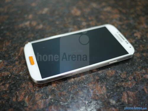 Spigen Samsung Galaxy S4 GLAS.t NANO SLIM tempered glass screen protector hands-on