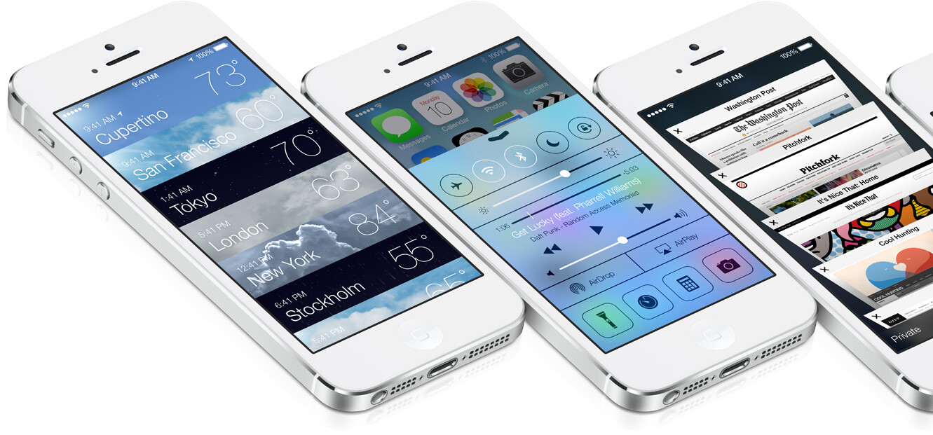 """Apple iOS 7 is official: """"biggest change to iOS since the introduction of the iPhone"""""""