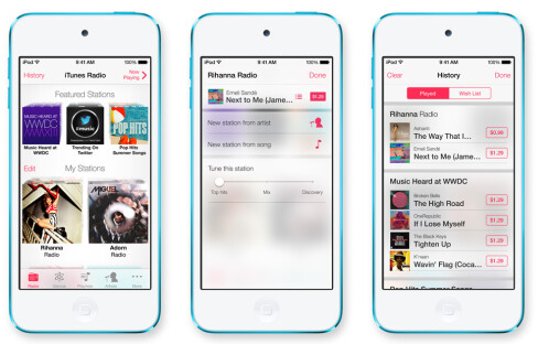 Goodbye to skeuomorphism: all apps have been redesigned to match the new design